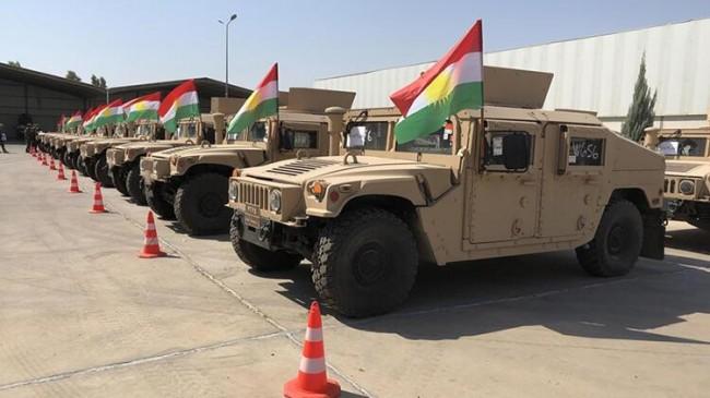 ABD'den Peşmerge'ye askeri yardım!