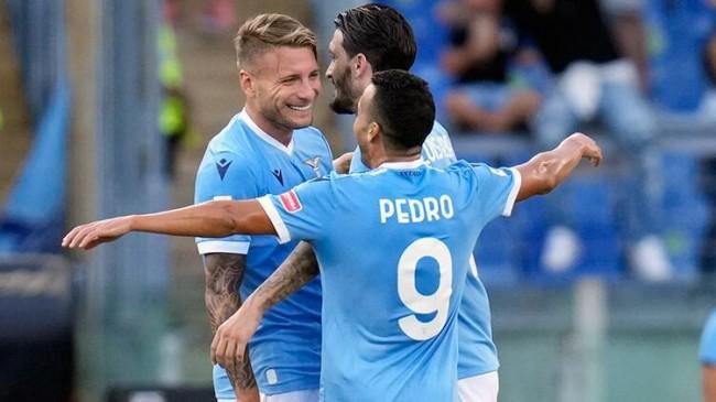 Galatasaray'ın rakibi Lazio'dan Spezia'ya yarım düzine gol