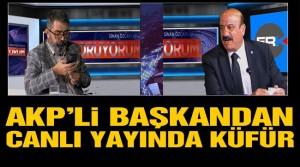 AKP'li başkandan İYİ Parti il başkanına küfür