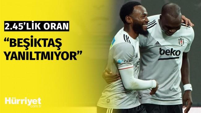 Mevzu Bahis   Beşiktaş yanıltmıyor 2.45'lik detay! Derbi günü kazandıran tahmin…