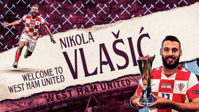 Transfer Haberleri: Nikola Vlasic, West Ham United'da
